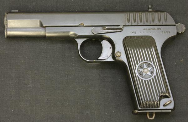 トカレフ TOKAPEB TT-33 モデルガン