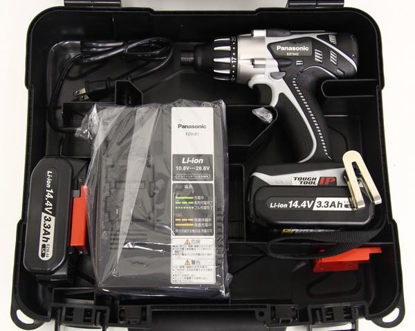 充電マルチインパクトドライバー EZ7542LR2S-B 黒