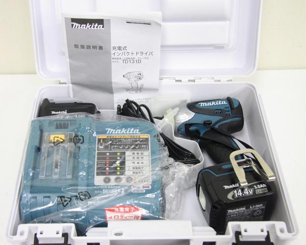 14.4V 充電式インパクトドライバ TD131DRFX