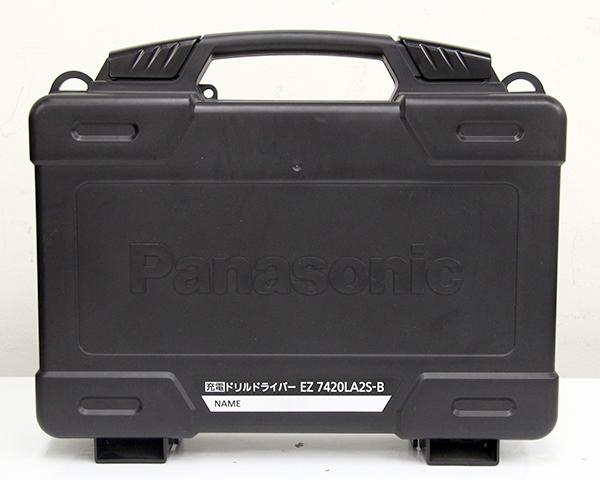充電ドリルドライバー EZ7420LA2S-B 黒