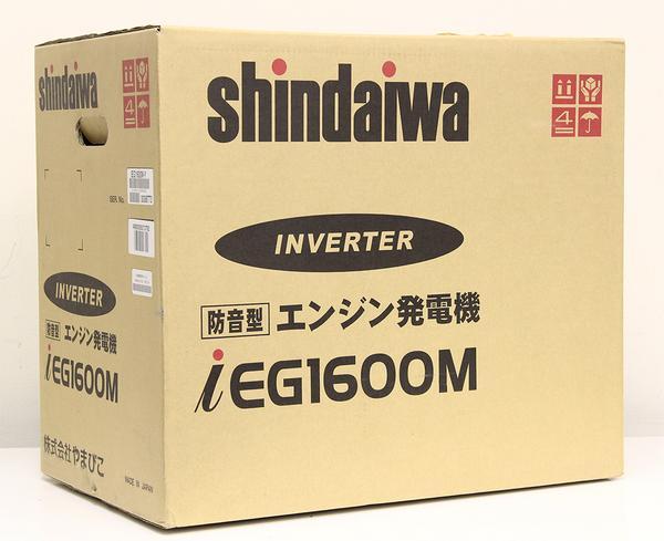 インバーター発電機 IEG1600M-Y