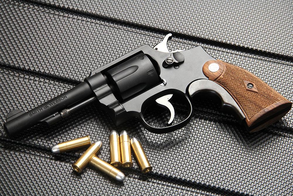 S&W M10 オールド ミリタリー&ポリス 4インチ 発火式モデルガン