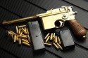 モーゼル M712 ゴールド 発火式金属モデルガン