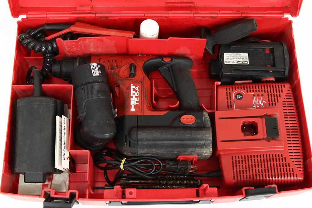 充電式ハンマードリル TE6-A おまけ多数