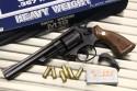 S&W NEW M19 .357マグナム 6インチ HW チェッカー入り木製グリップ モデルガン