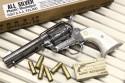 コルト S.A.A.45 シビリアン オールシルバー モデルガン (1)