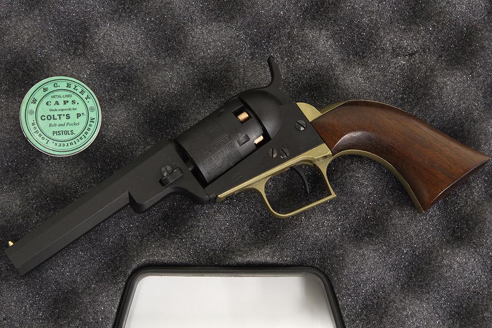 コルト M1848 ベビードラグーン 4インチ ダミーモデルガン