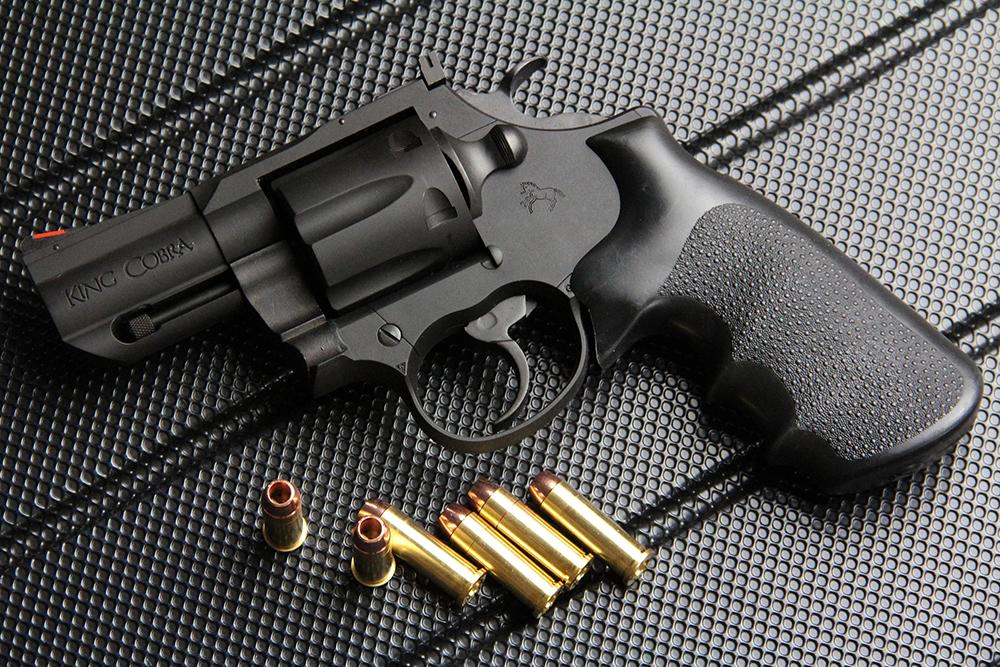 コルト キングコブラ 2.5インチ ブラック HW 発火式モデルガン