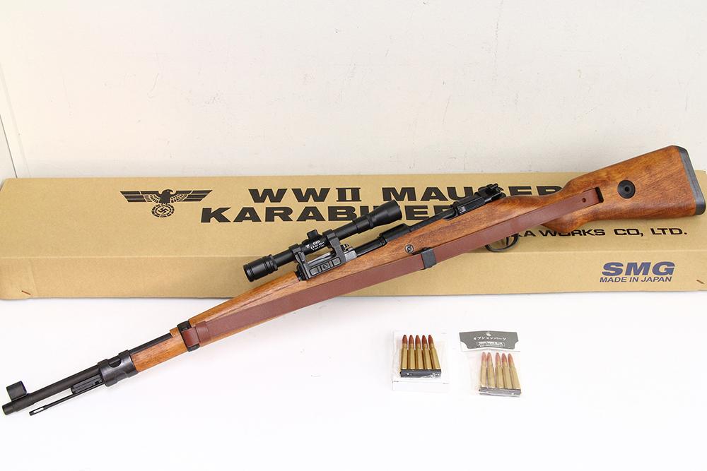 WWⅡ MAUSER KARABINER モーゼル98k 発火式モデルガン