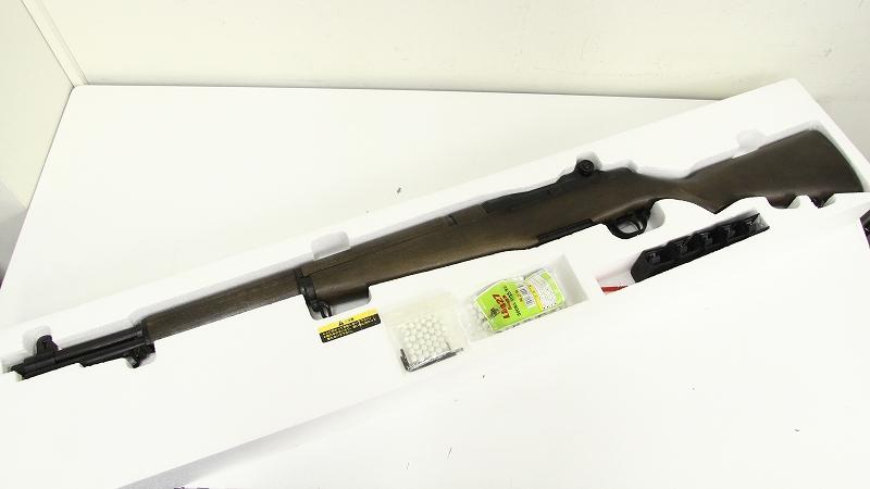 M1ガーランド ガスブローバック MAXI8 ガスガン