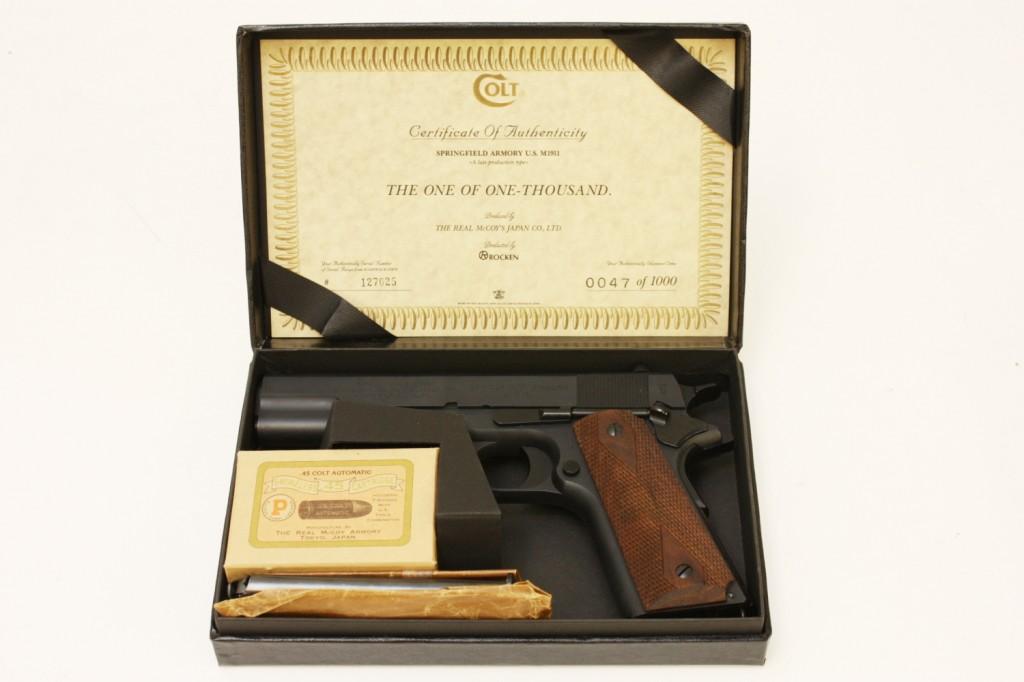 M1911 モデルガン スプリングフィールド