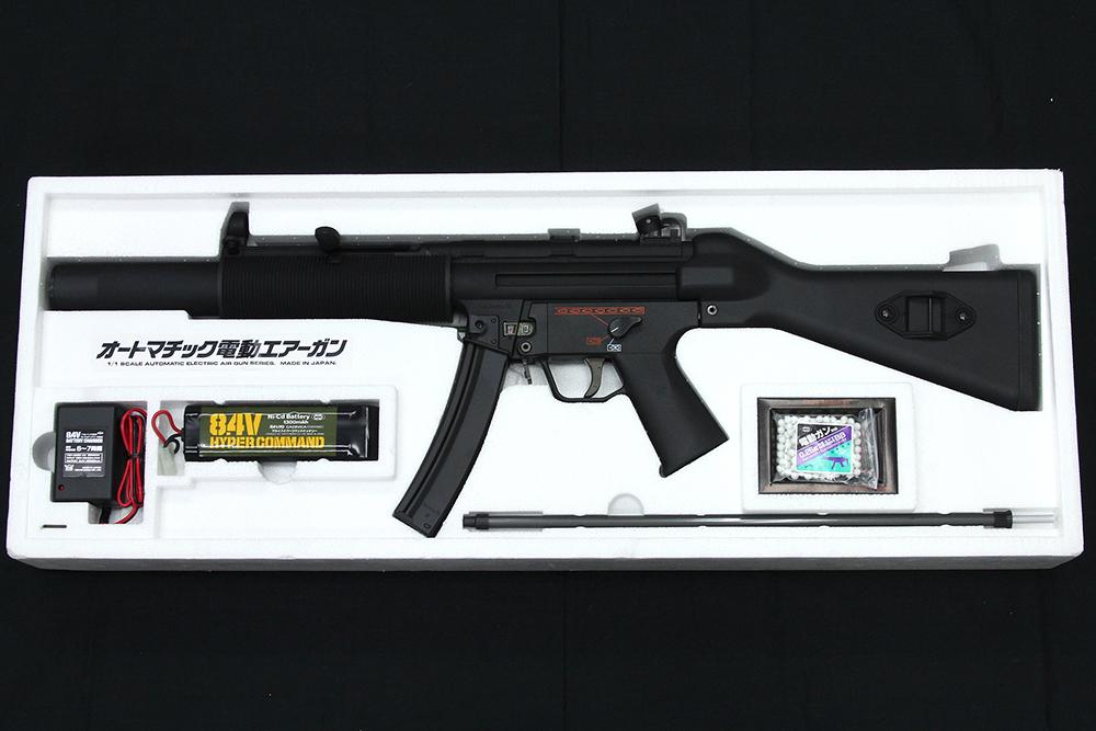 Heckler&Koch MP5 SD5 オートマチック電動エアーガン フルセット