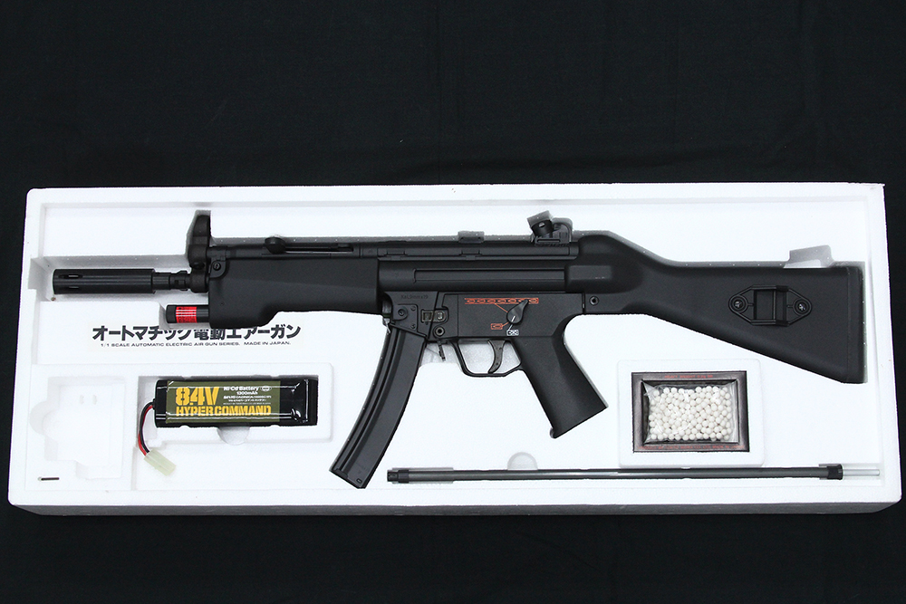 Heckler&Koch MP5A4 オートマチック電動エアーガン フルセット