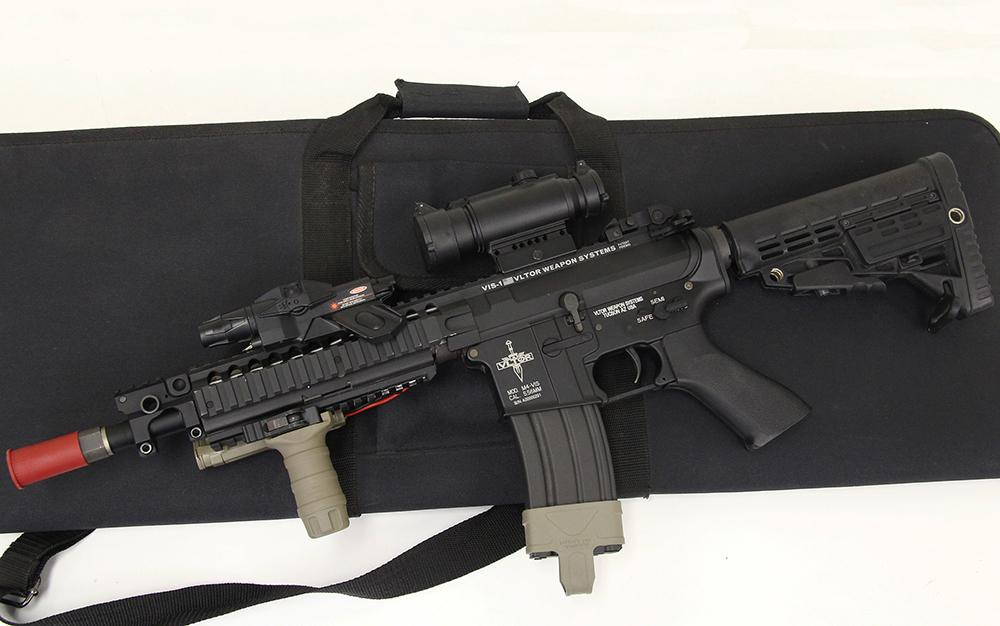 M4 VIS-1 VLTOR ボルター カスタム 電動ガン