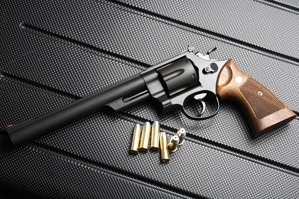 S&W M29 44マグナム 8-3/8インチ HW モデルガン タナカ純正ウッドグリップカスタム