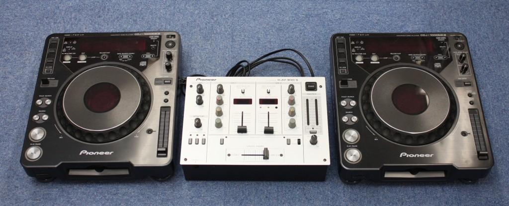 CDJセット CDJ-1000MK2×2 & DJM-300S