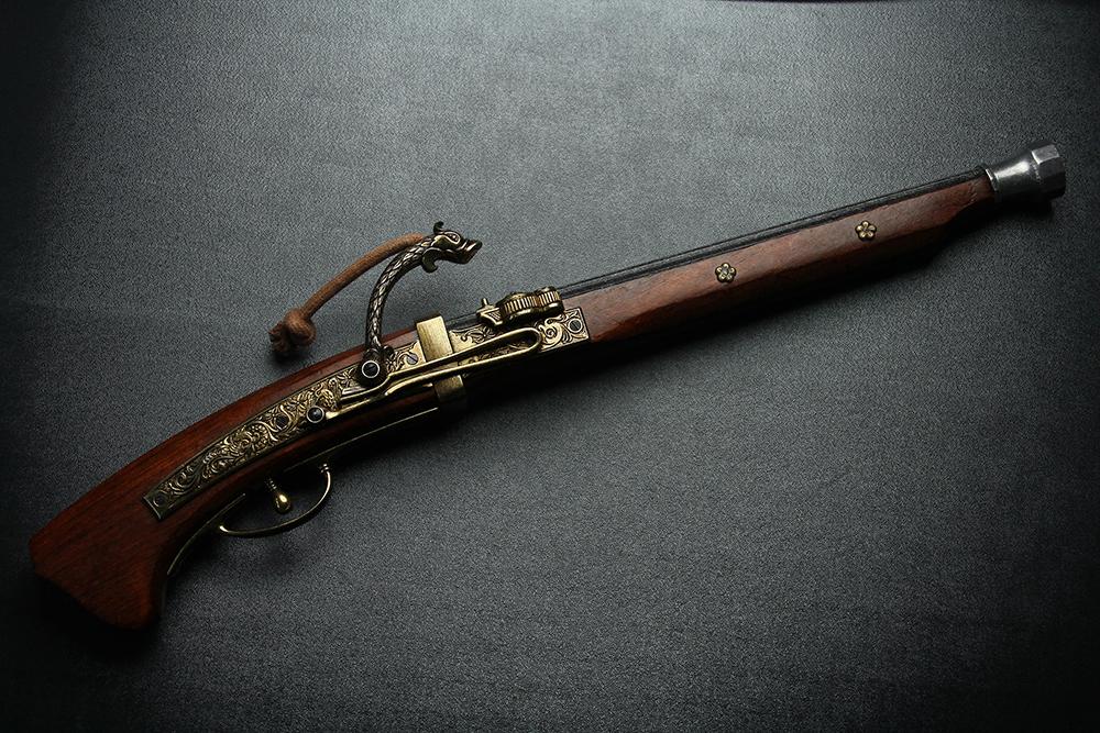 火縄銃 種子島(ポルトガル伝来モデル)1543年 55cm