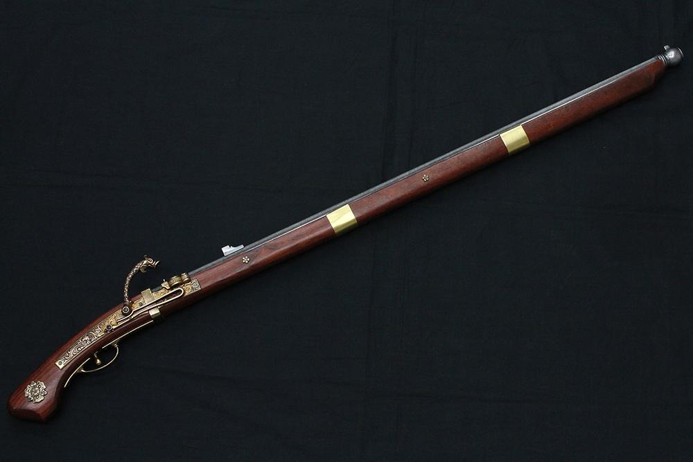 火縄銃 種子島(ポルトガル伝来モデル)1543年 110cm