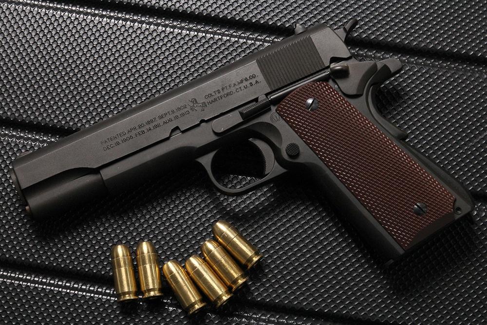 コルト M1911A1 トランジション 50周年記念モデル ケース付き