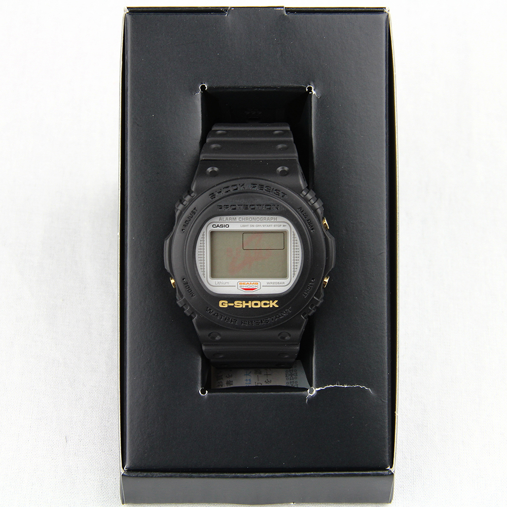G-SHOCK ビームス BEAMS 20th DW-5700BE-1JR