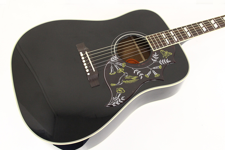 Hummingbird 50th Anniversary Ebony Black