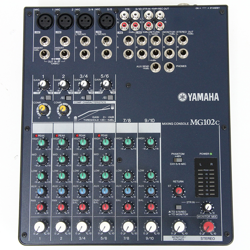 MIXING CONSOLE MG102c