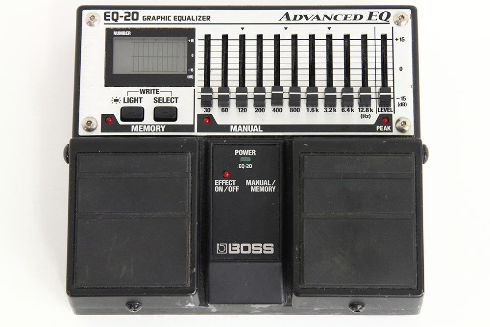 BOSS EQ-20 GRAPHIC EQUALIZER
