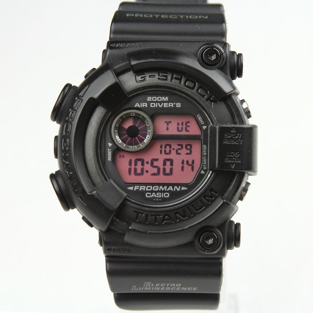 G-SHOCK フロッグマン FROGMAN DW-8200BK-1JF リアルブラック
