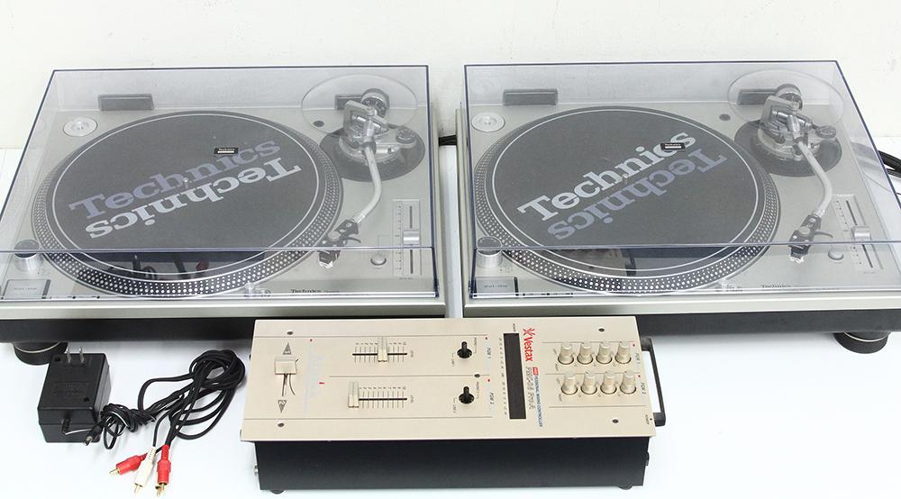 ターンテーブル SL-1200MK3D (×2点) + ベスタクス Vestax PMC-06 ProA