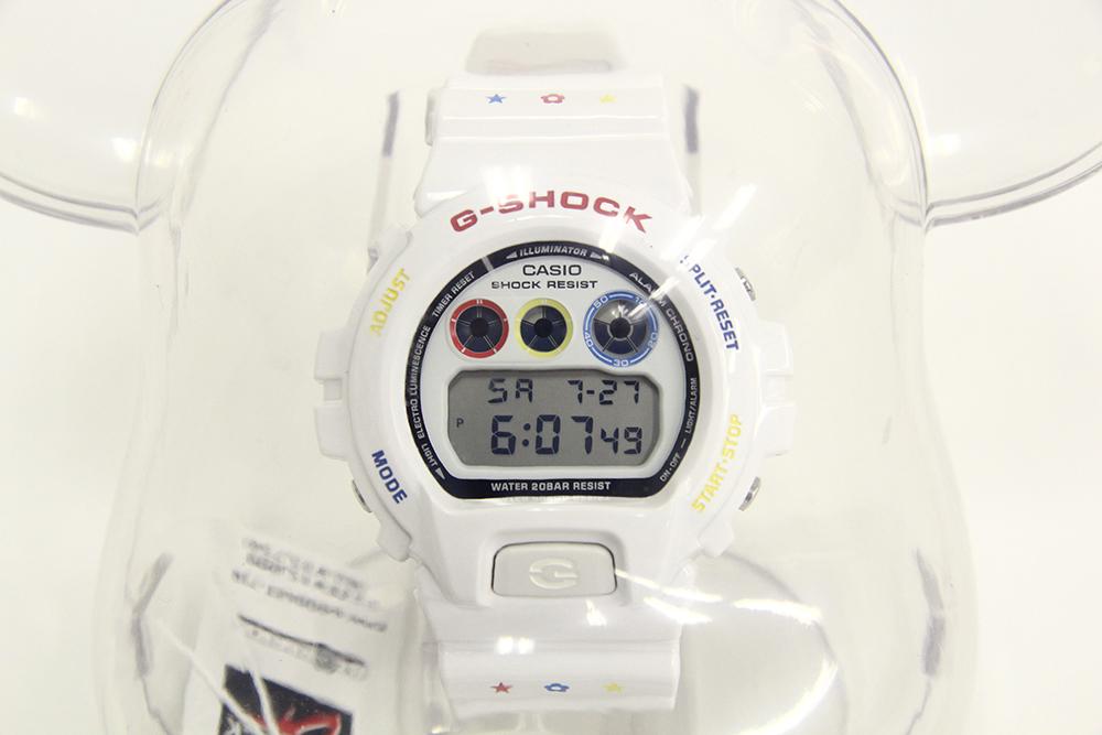 G-SHOCK×MEDICOM TOYコラボレーションモデル DW-6900MT-7JR