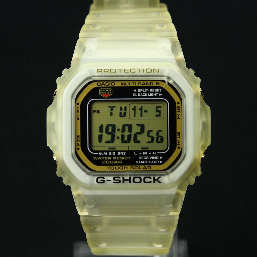 G-SHOCK GW-M5625E-7JF グロリアスゴールド 25周年記念モデル 交換用ベゼル付き