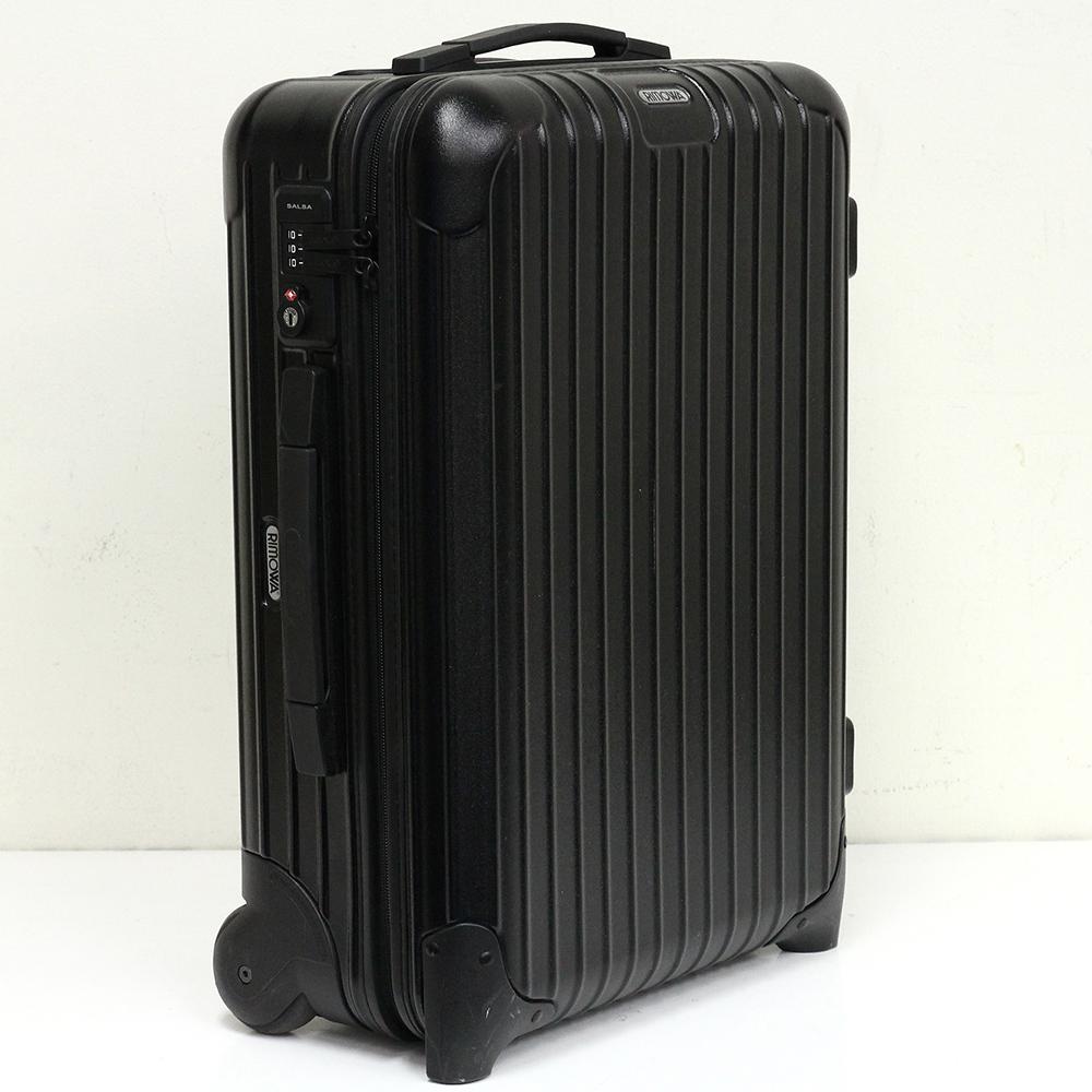 サルサ SALSA 35L 851.52 ブラック キャビントローリー イアタ 2輪 TSAロック付