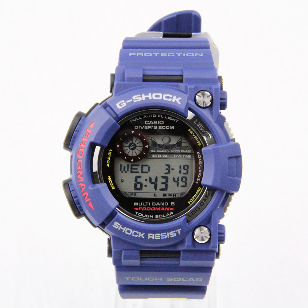 カシオ G-SHOCK フロッグマン MEN IN NAVY GWF-1000NV-2JF