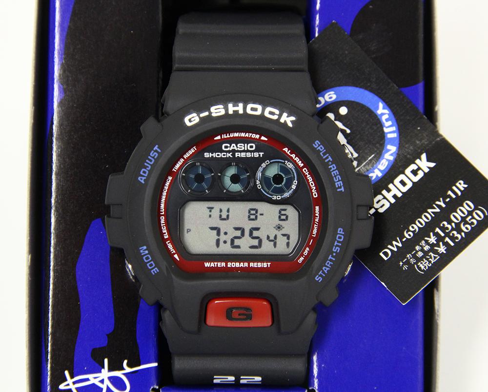 G-SHOCK DW-6900NY-1JR 中澤佑二モデル