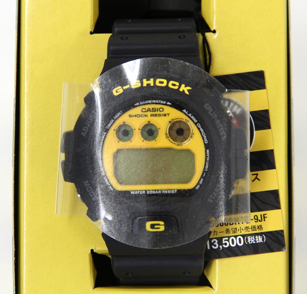 G-SHOCK 阪神タイガース DW-6900BHTG-9JF