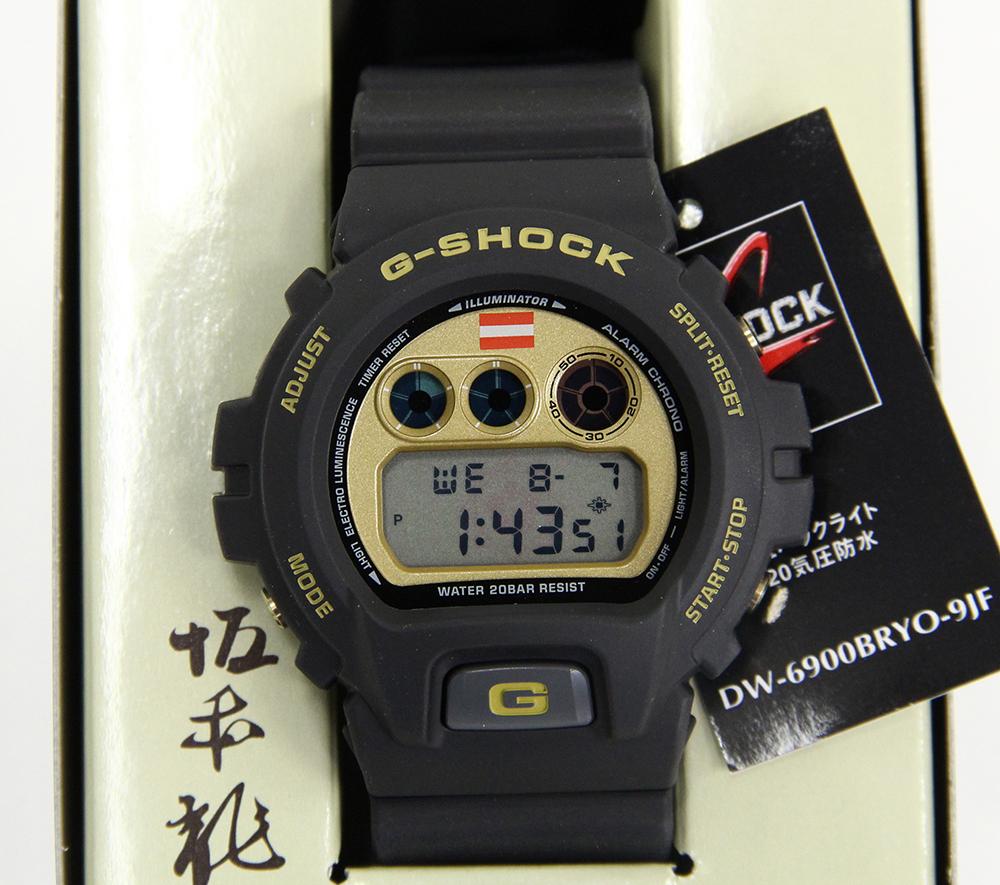 G-SHOCK DW-6900BRYO-9JF 坂本龍馬 1500本限定