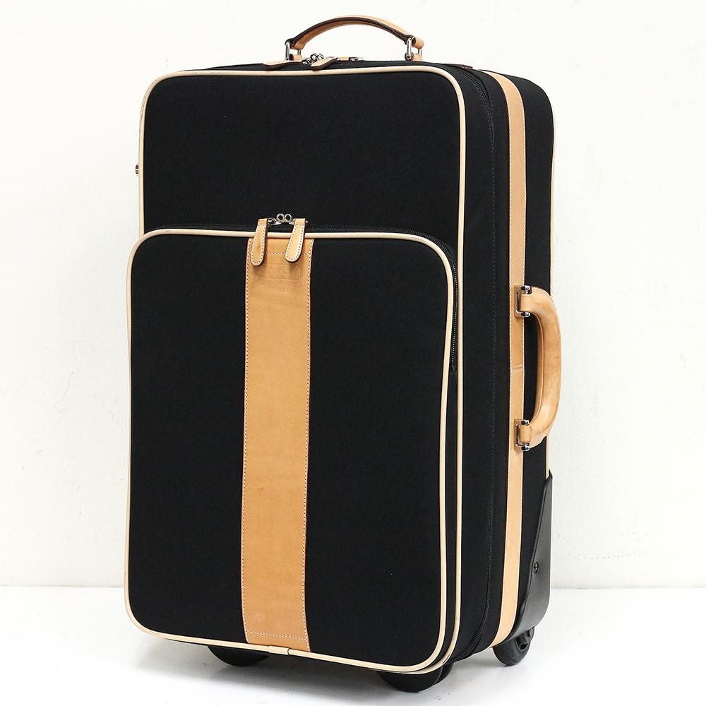 スーツケース 5955 ブラック×ベージュ