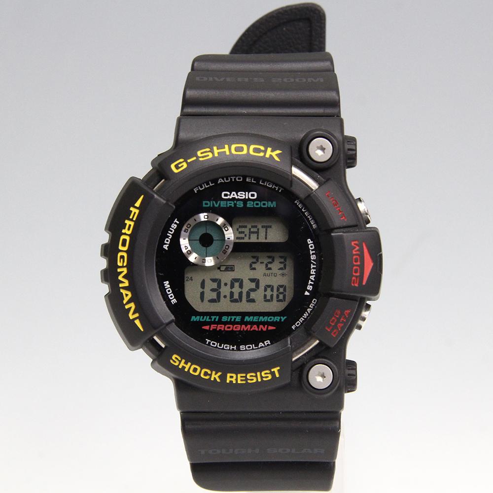 G-SHOCK フロッグマン ファイナルエディション GW-200Z-1DR 海外モデル