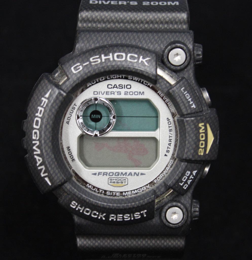 カシオ G-SHOCK GW-201NT-1JF カーボン フロッグマン