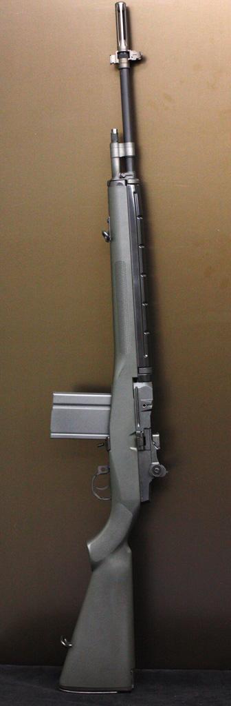 東京マルイ U.S.ライフル M14 ファイバータイプ O.D.ストック 電動エアーガン