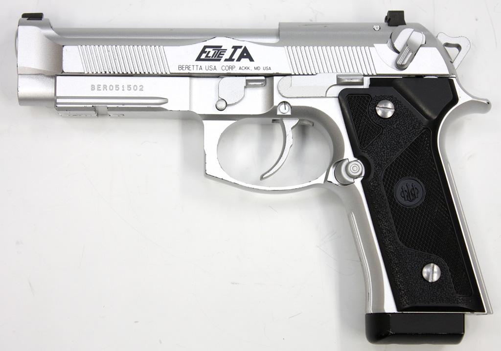 ベレッタ M92FS エリート IA シルバー ガスガン