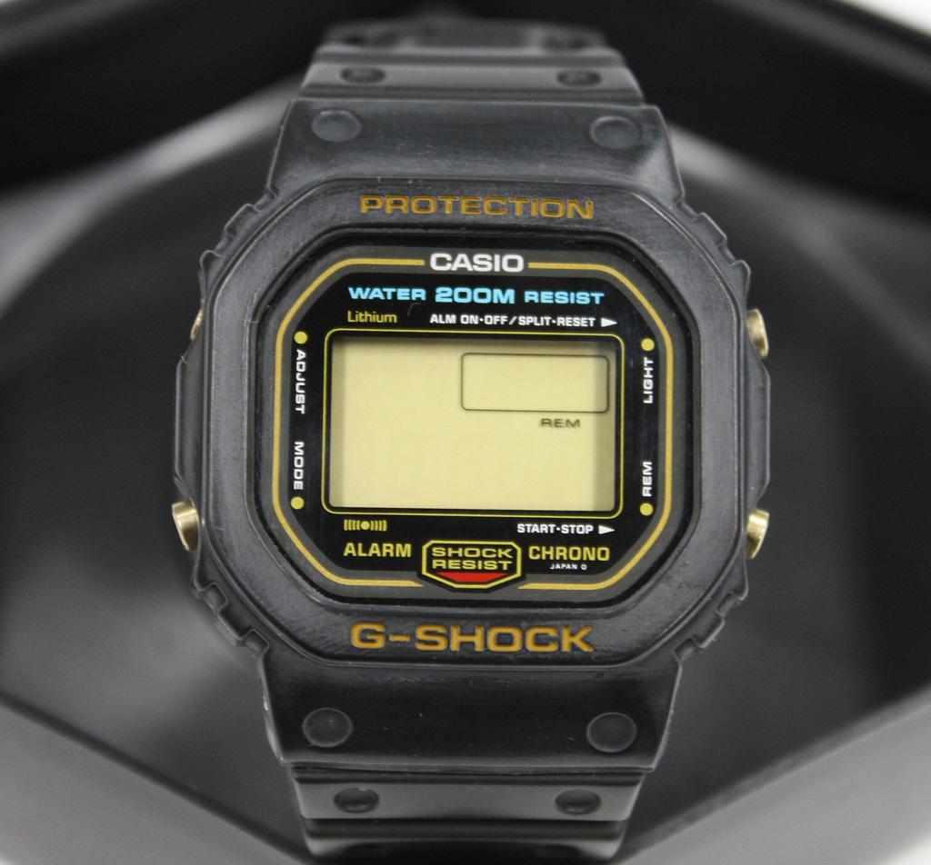G-SHOCK DW-5600C-9CV スピード スクリューバック