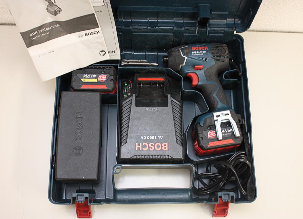 充電式インパクトドライバー GDR14.4V-LIN