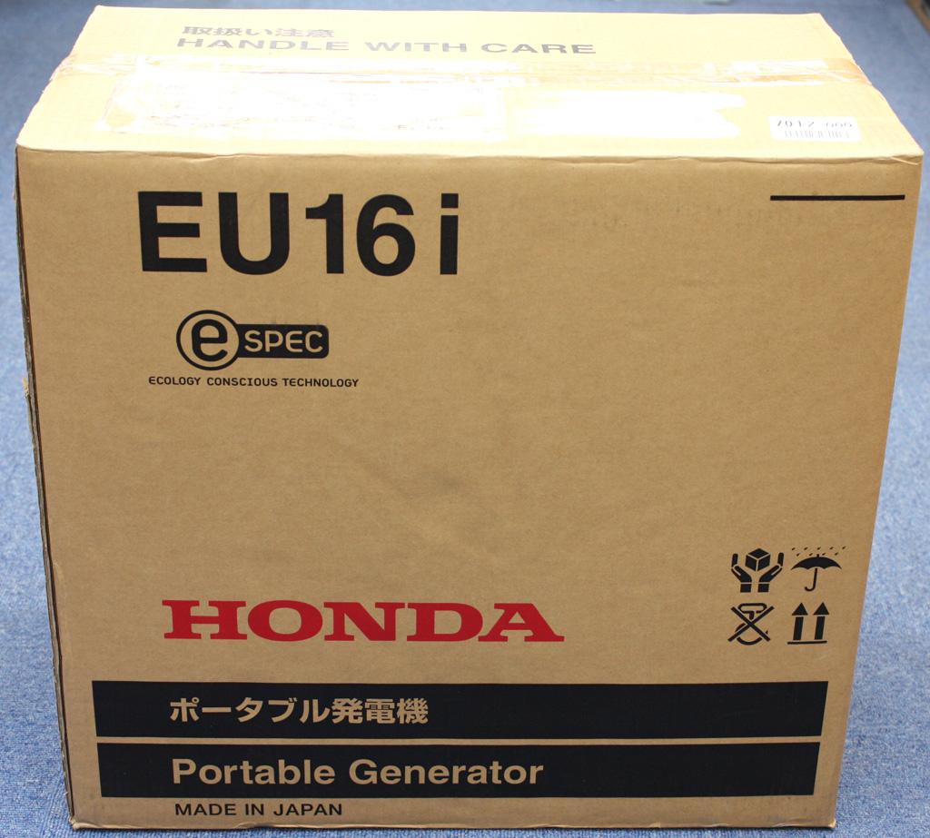 ホンダ インバーター発電機 EU16i ポータブル