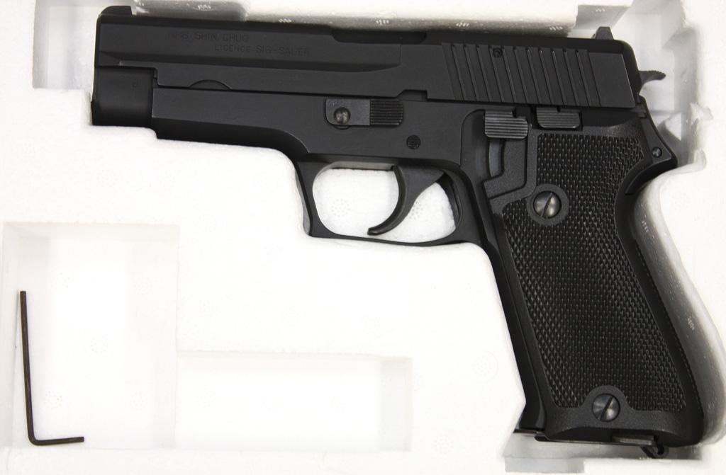 9mm拳銃 SIG SAUER P220 航空自衛隊 ガスガン