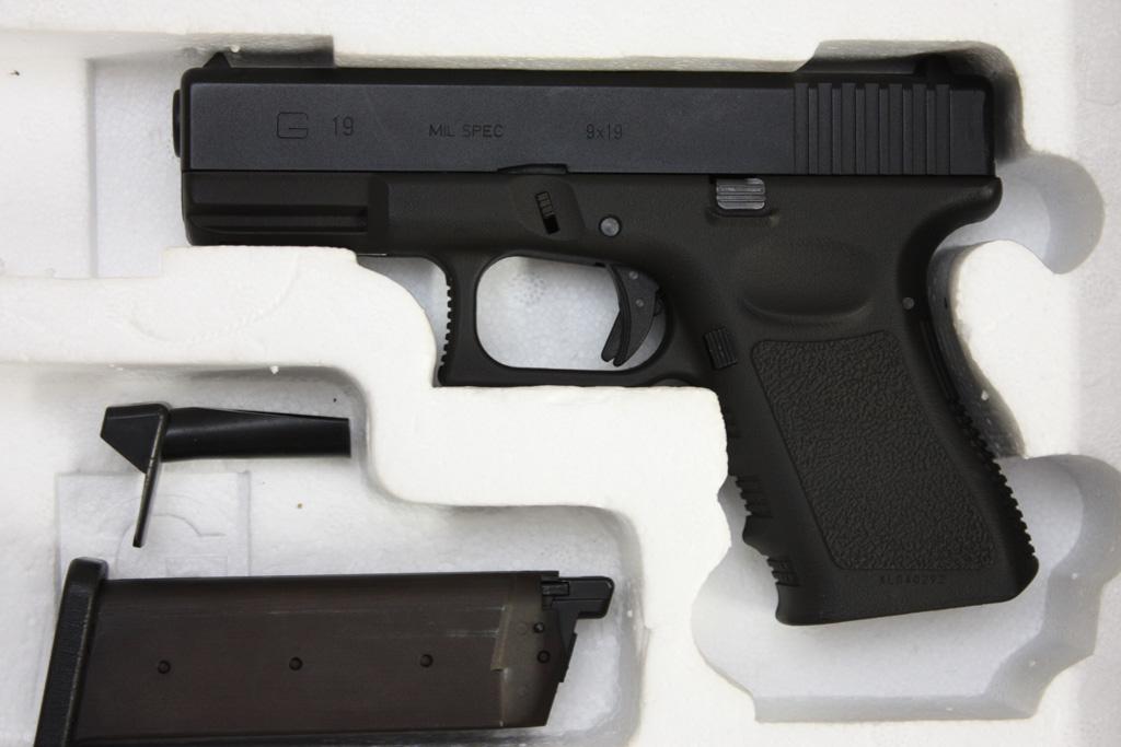 KSC G19 フレイム HW ブラック