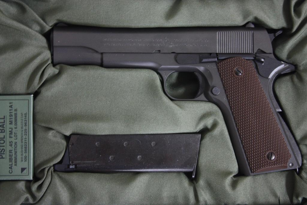 東京マルイ M1911A1 コルト ガバメント ブローバック
