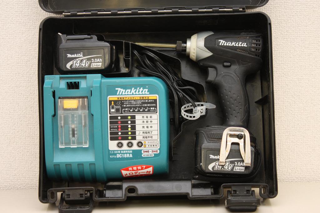 マキタ 充電式インパクトドライバ TD132DRFXB