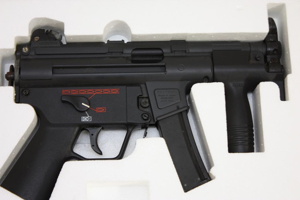 """マルゼン ガスガン MP5KA4 """"クルツ"""" フルオートブローバック"""