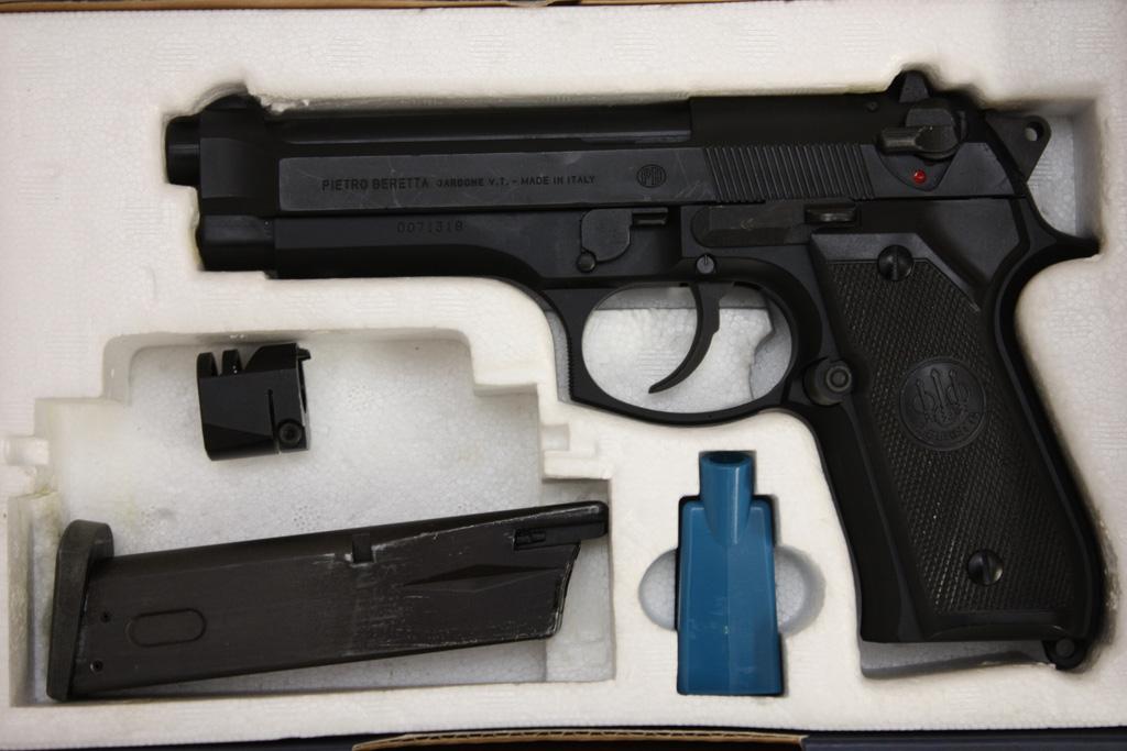 WA ガスガン ベレッタ M92FS ブラック